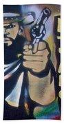 Django Three Faces Beach Towel