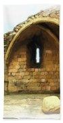 Do-00427 Citadel Of Sidon Beach Towel