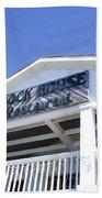 Dock House Restaurant Beach Towel