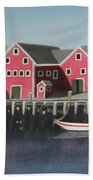 Docked - Original Sold Beach Towel