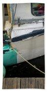 Dockside Detail Beach Towel