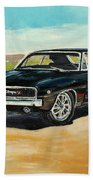 Dodge Charger Rt 1970 Beach Towel
