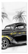 Dodge Coupe Beach Towel