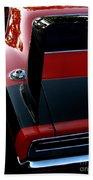 Dodge Daytona Fin Beach Towel