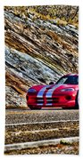 Dodge Viper  V1 Beach Towel