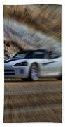 Dodge Viper V3 Beach Towel