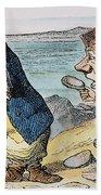 Dodgson: Looking Glass Beach Towel