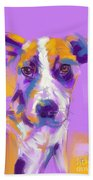 Dog Charlie Beach Towel