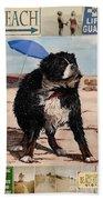 Dog Days Of Summer V2 Beach Towel