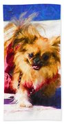 Dog Daze 3 Beach Towel
