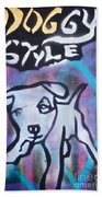 Doggy Style 2 Beach Sheet