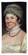 Dolley Payne Todd Madison (1768-1849) Beach Towel