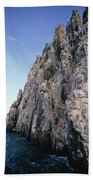 Dolomite Cliff With Guillemot Colony Beach Towel