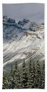 1m3538-dolomite Peak Beach Towel