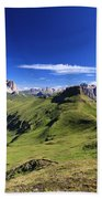 Dolomiti - High Fassa Valley Beach Towel