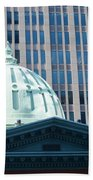 Dome Of Art Museum  Beach Towel