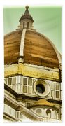 Dome Of Florence Beach Towel