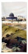 Dome Of The Rock Beach Towel