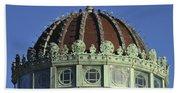 Dome Top Of Carousel House Asbury Park Nj Beach Towel