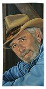Don Williams Painting Beach Sheet