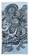 Doodle - 01 Beach Towel