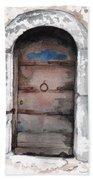 Door Series - Door 3 - Sarajero Beach Towel