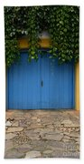 Doors And Windows Minas Gerais State Brazil 11 Beach Towel