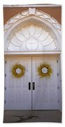 Doors Of San Francisco De Asis Beach Towel