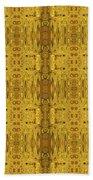 Doors Zanzibar Saffron Beach Towel