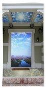 Doorway 14 Beach Towel