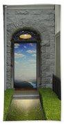 Doorway 2 Beach Sheet