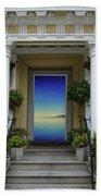 Doorway 8 Beach Towel