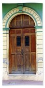 Doorway Of Nicaragua 001 Beach Towel