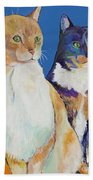 Dos Amores Beach Towel by Pat Saunders-White