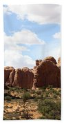 Double Arch In The Windows District Beach Towel