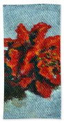 Double Hibiscus Beach Towel