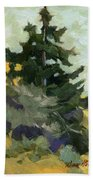 Douglas Fir In Washington Beach Towel