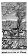 Dover, New Jersey, 1844 Beach Towel
