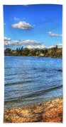 Lake District In Great Britain Beach Towel