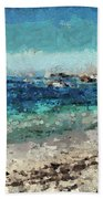 Down By The Sea 2 Beach Towel