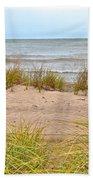 Down By The Sea Beach Towel