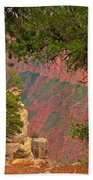 Down Into The Grand Canyon Beach Towel