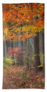 Down The Trail Square Beach Towel by Bill Wakeley