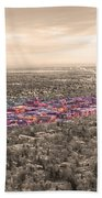 Boulder Colorado  Twenty-five Square Miles Surrounded By Reality Beach Towel