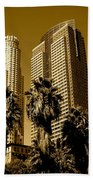 Downtown Los Angeles Beach Towel