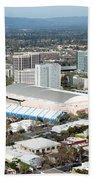 Downtown San Jose California Beach Towel