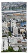 Downtown Tacoma Washington Beach Towel