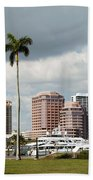 Downtown West Palm Beach Beach Towel