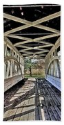 Dr. Knisely Covered Bridge Beach Towel