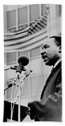 Dr Martin Luther King Jr Beach Towel